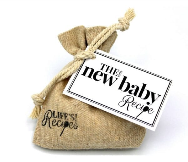 New Baby Recipe - Standard Packaging - Lifes Little Recipes
