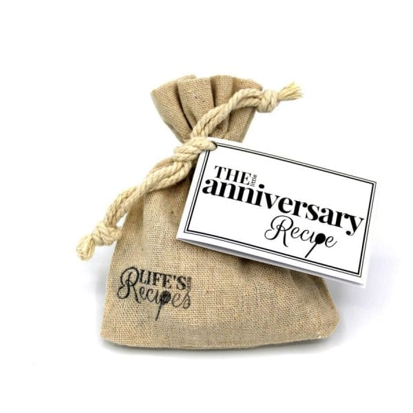 The Little Anniversary Recipe - Gift Bag - Lifes Little Recipes