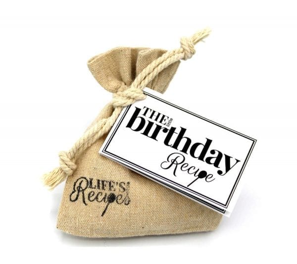 The Little Birthday Recipe - Gift Bag - Lifes Little Recipes