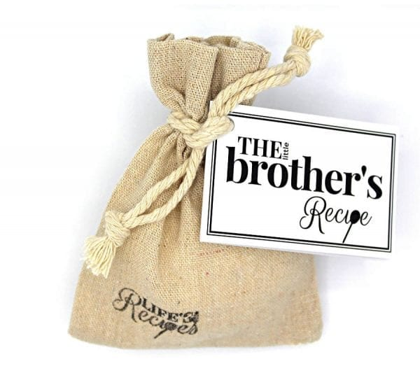 The Little Brothers Recipe - Gift Bag - Lifes Little Recipes