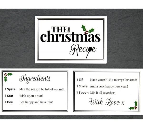 The Little Christmas Recipe - Cards - Lifes Little Recipes