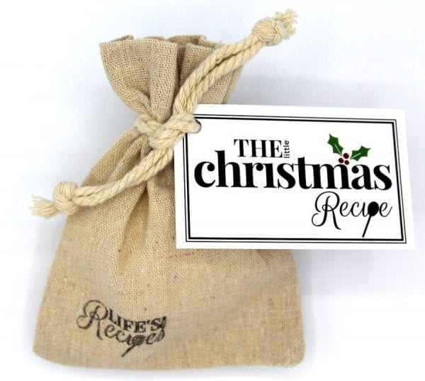 The Little Christmas Recipe - Gift Bag - Lifes Little Recipes