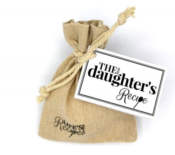 The Little Daughter Recipe - Gift Bag - Lifes Little Recipes