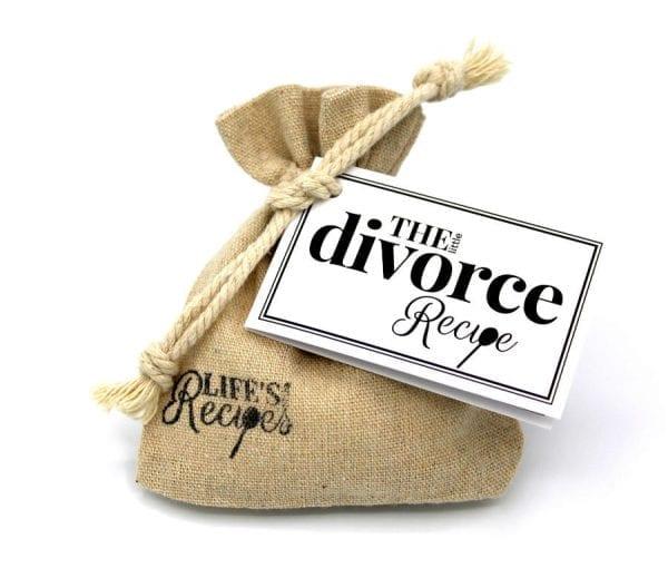 The Little Divorce Recipe - Gift Bag - Lifes Little Recipes