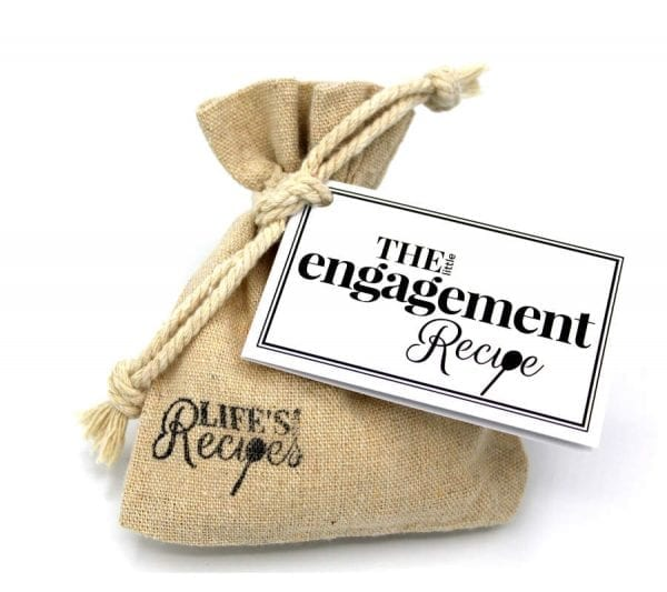 The Little Engagement Recipe - Gift Bag - Lifes Little Recipes