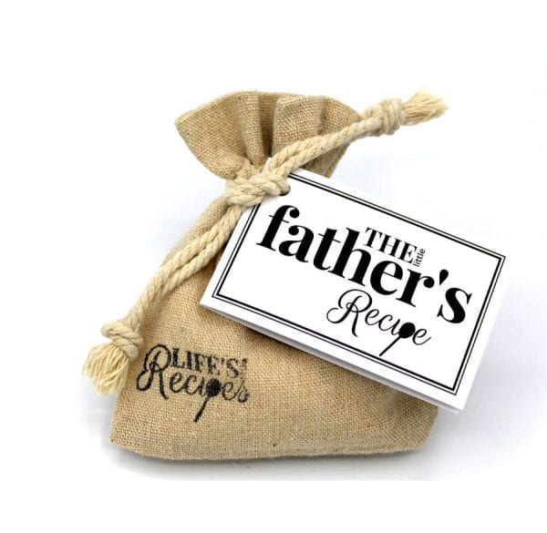 The Little Fathers Recipe - Gift Bag - Lifes Little Recipes