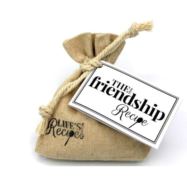 The Little Friendship Recipe - Gift Bag - Lifes Little Recipes