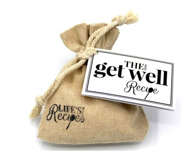 The Little Get Well Recipe - Gift Bag - Lifes Little Recipes