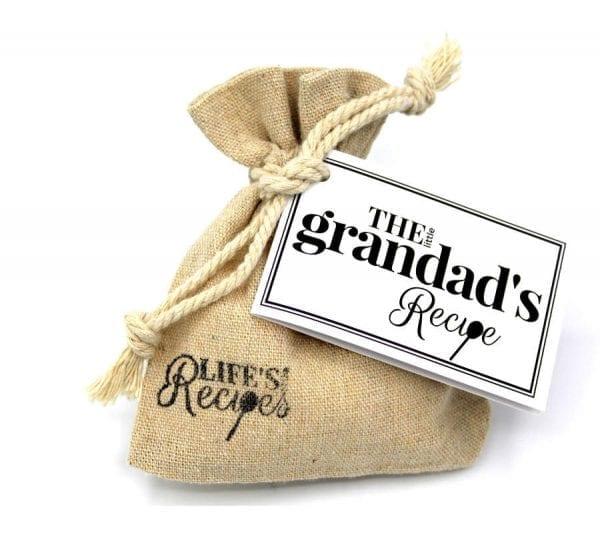 The Little Grandads Recipe - Gift Bag - Lifes Little Recipes
