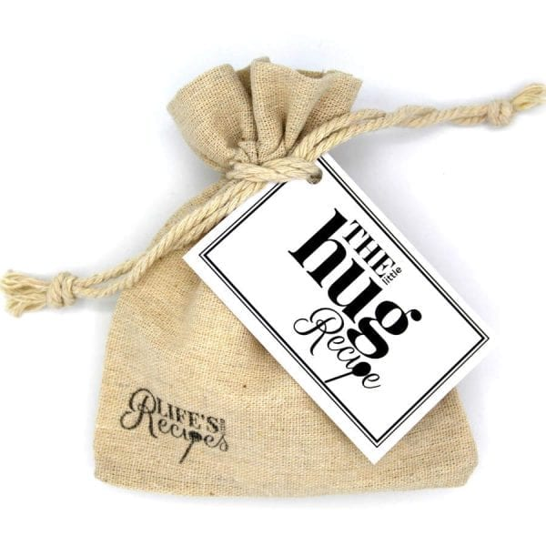 The Little Hug Recipe - Gift Bag - Lifes Little Recipes