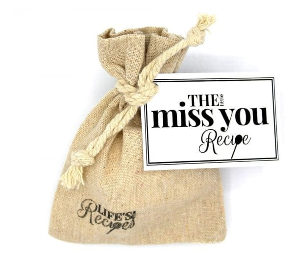 The Little Miss You Recipe - Gift Bag - Lifes Little Recipes