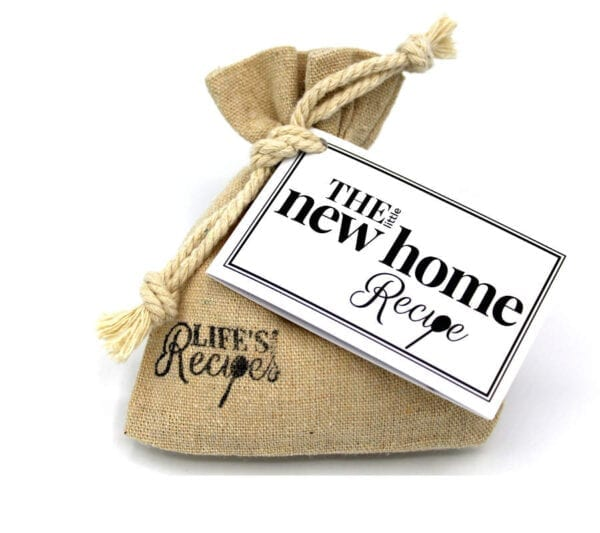 The Little New Home Recipe - Standard Bag - Lifes Little Recipes