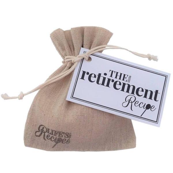 The Little Retirement Recipe - Standard Bag - Lifes Little Recipes