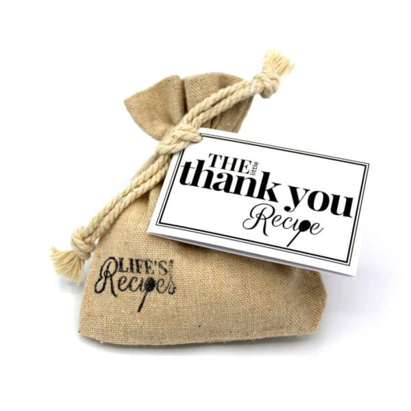 The Little Thank You Recipe - Standard Bag - Lifes Little Recipes