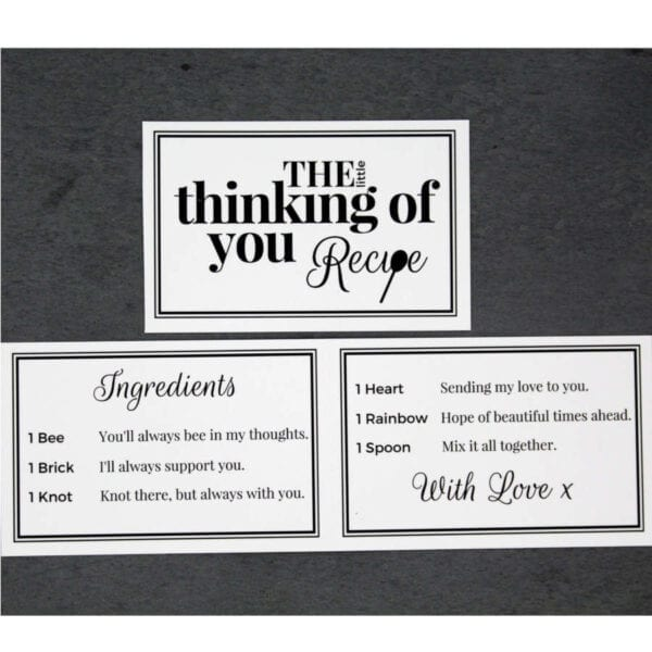 The Little Thinking of You - Cards - Lifes Little Recipes