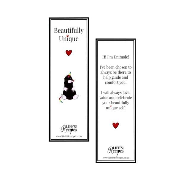 Unimole Keyring and Bookmark - Bookmark - Lifes Little Recipes