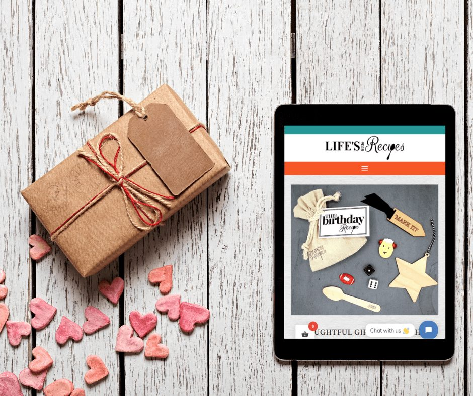 Welcome to our new website-Tablet and gift - Life's Little Recipes (1)
