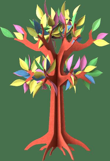 Unimole Landing Page - Colourful Tree - Lifes Little Recipes