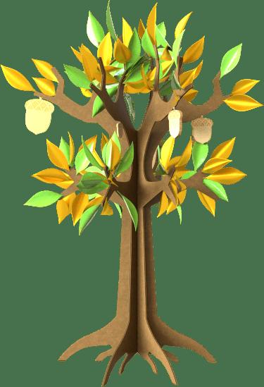 Unimole Landing Page - Tree with Acorns - Lifes Little Recipes
